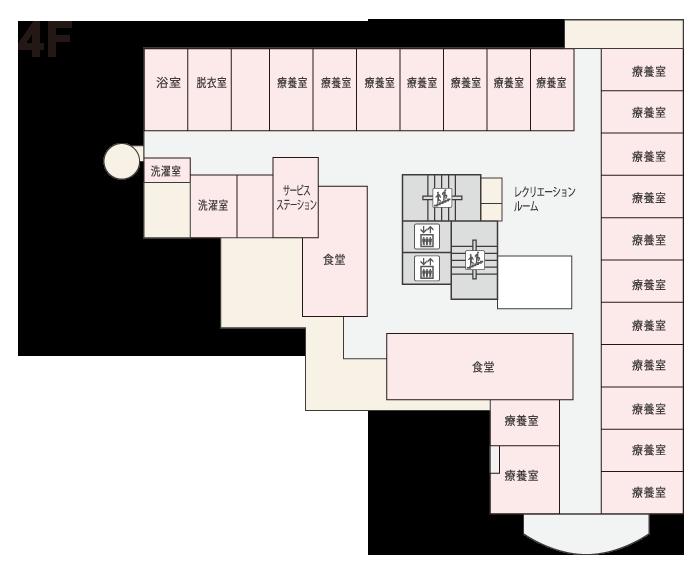 ゆりの木4階