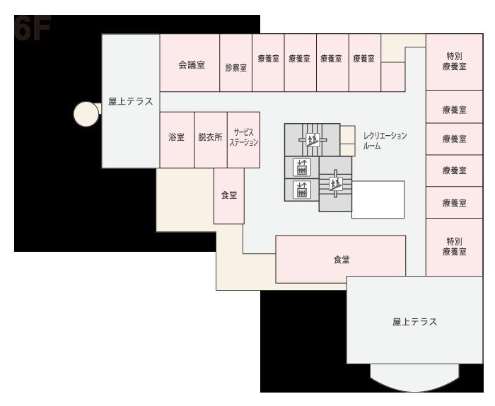 ゆりの木6階